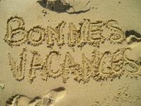 plage, sable, vacances