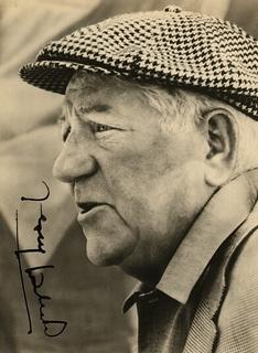 Jean Gabin, autographe, portrait