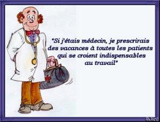 Humour médecin