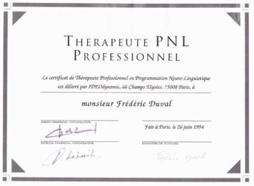 Psycothérapeute PNL professionnel