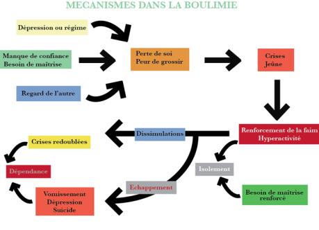 mécanismes de la boulimie, F.Duval-Levesque, psychotherapie, psychopraticien, hypnotherapeute, EMDR, sophrologie, coach, formateur, addiction, dependances, boulimie, depression